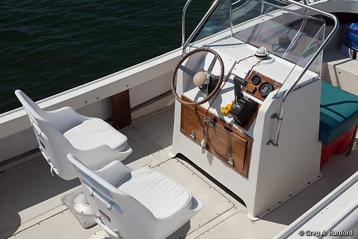 21 Foot Boston Whaler Outrage Boat Rental in Acadia