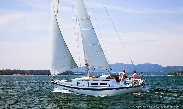 Sailboat and yacht rentals in Acadia National Park, Maine
